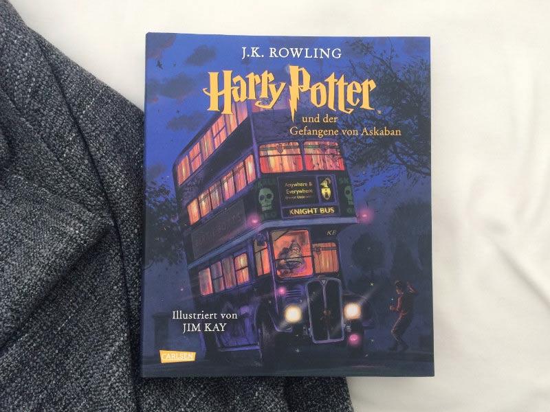 Harry Potter und der gefangene von Askaban-Schmuckausgabe-Carlsen Verlag