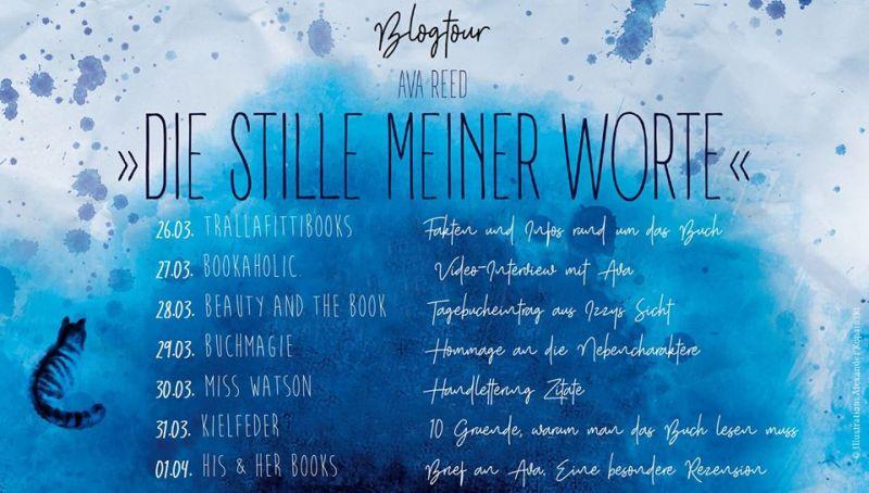 Blogtour-die stille meiner worte-ava reed