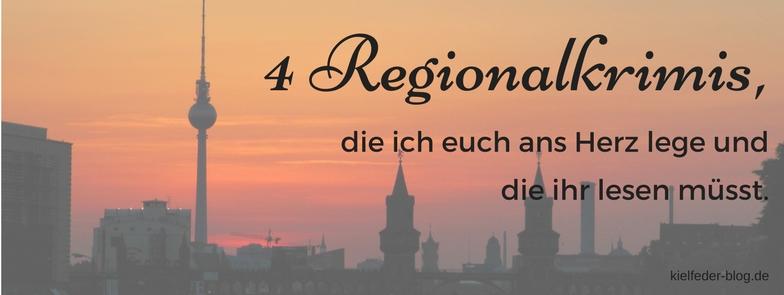 Regiokrimis-Empfehlungen für Regionalkrimis
