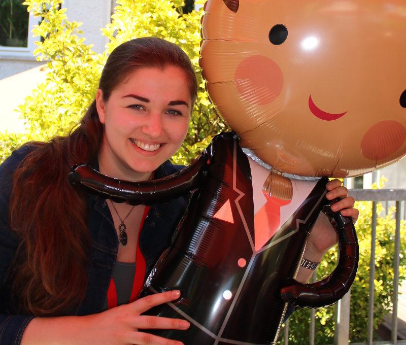 Ramona Nicklaus vom Buchblog Kielfeder auf der LoveLetter Convention