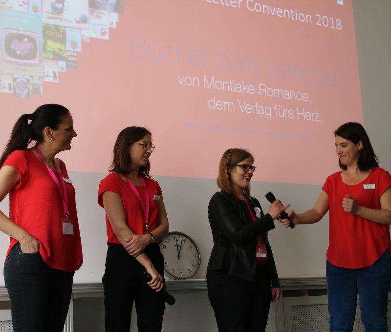 Verlagspräsentation von Montlake Romance-LoveLetter Convention