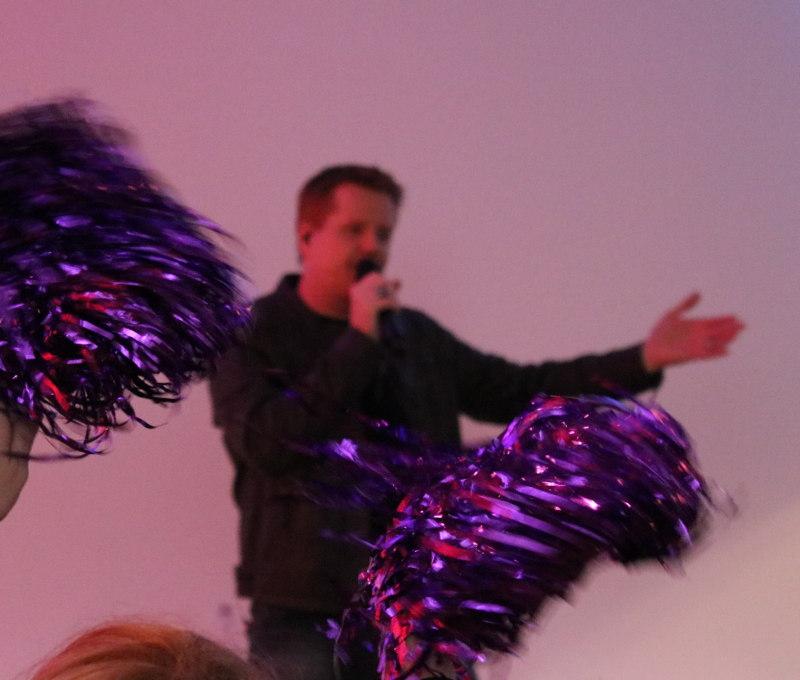 Ben Valdern alias Friedrich Kalpenstein auf der LoveLetter Convention