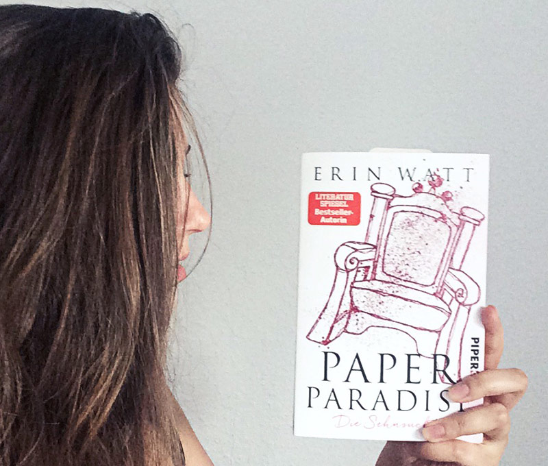 Paper Paradise von Erin Watt-rezension-Monatsrückblick juli