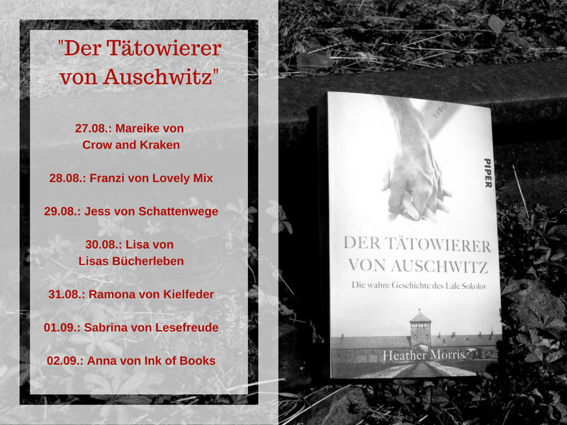 Blogtour zum Buch Der Tätowierer von Auschwitz von Heather Morris-Buch über den Holocaust