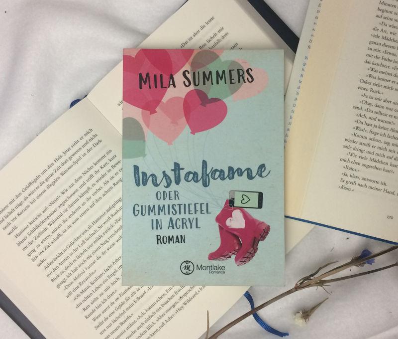 Instafame oder Gummistiefel in Acryl-Mila Summers