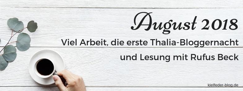monatsrückblick August 2018-buchblog kielfeder