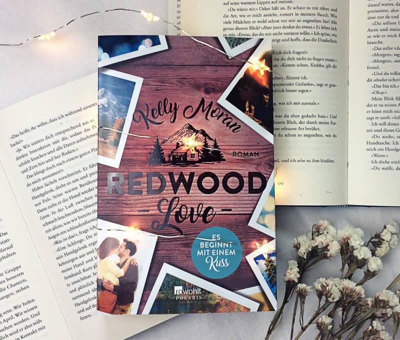 Redwood Love Es beginnt mit einem Kuss von Kelly Moran-Rezension