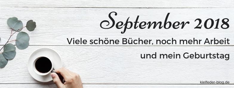 monatsrückblick September 2018-buchblog kielfeder