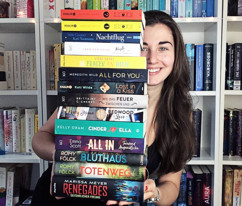 Gelesene Bücher im Oktober von Ramona Nicklaus-Monatsrückblick Oktober