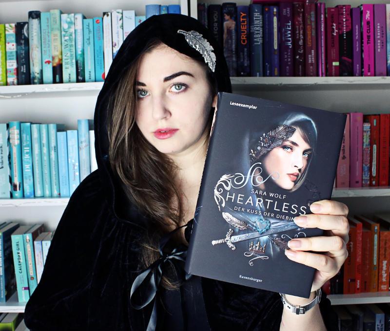 Heartless Der Kuss der Diebin von Sara Wolf-Rezension