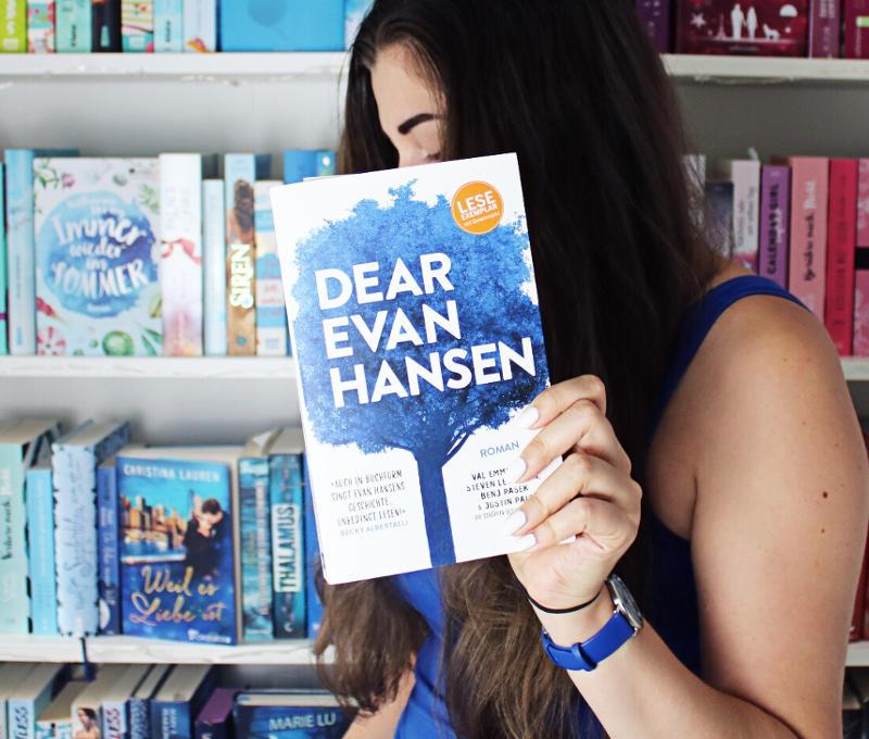 Dear Evan Hansen von Val Emmich-Blogtour Mobbing Ausgrenzung