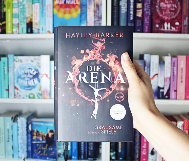 Die Arena Grausame Spiele von Hayley Barker-Rezension