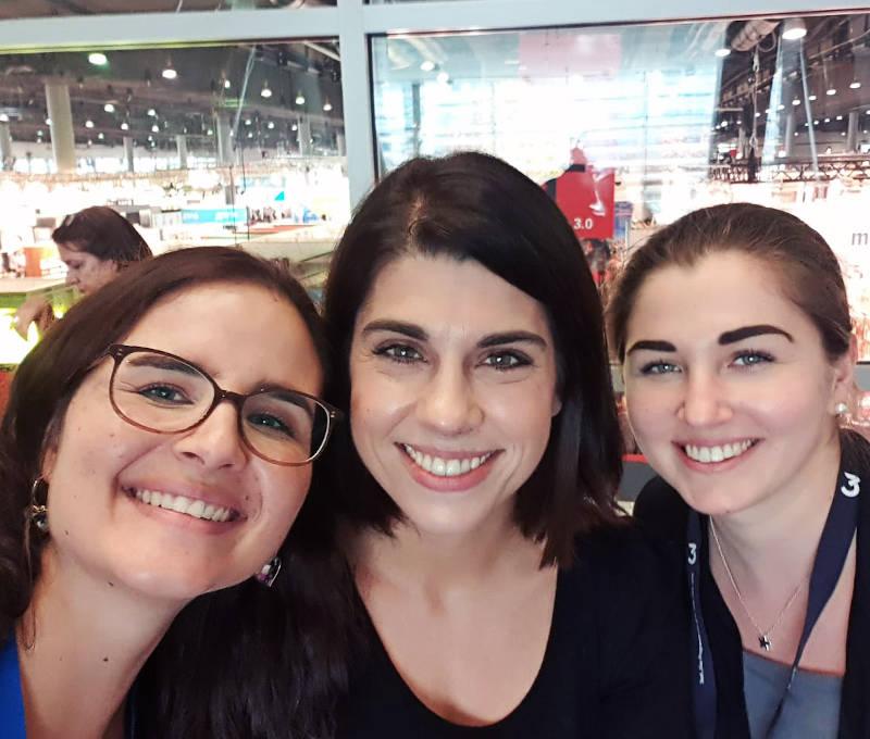 Desiree, Lena und Ramona auf der Frankfurter Buchmesse 2019
