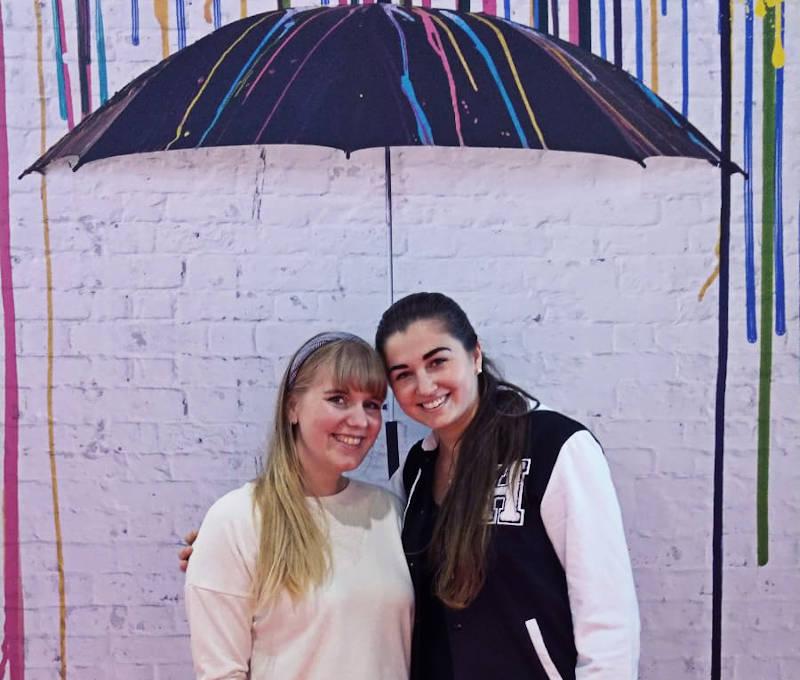 Steffi und Ramona auf der Frankfurter Buchmesse 2019