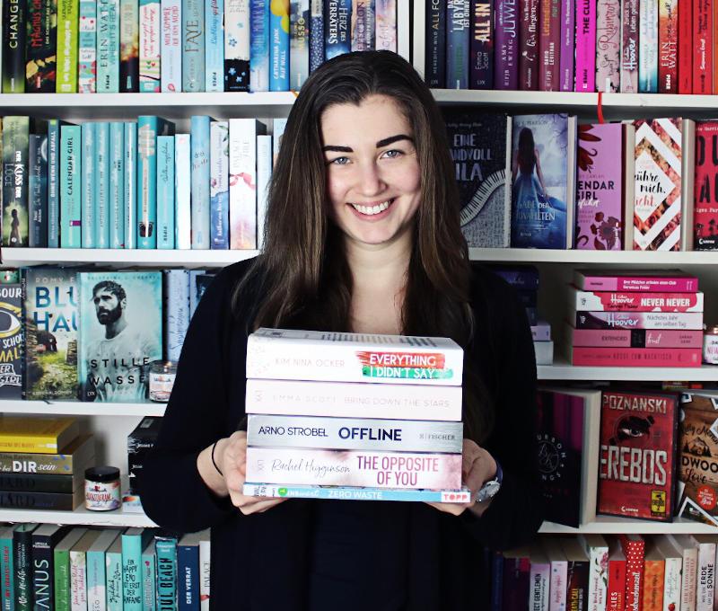 Gelesene Bücher Bücherstapel im Januar-Monatsrückblick Januar 2020