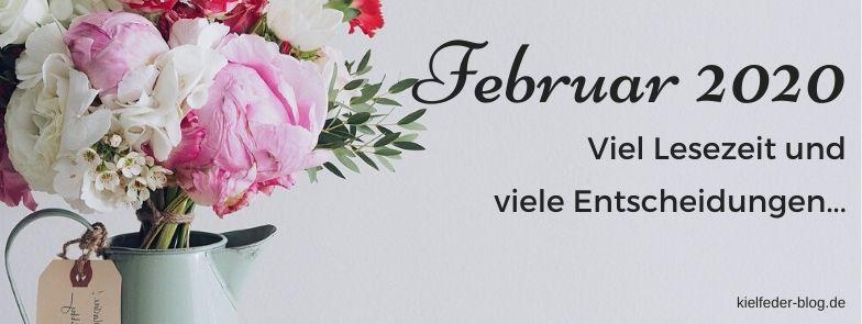 monatsrückblick Februar 2020-buchblog kielfeder