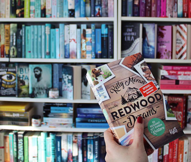Redwood Dreams Es beginnt mit einem Knistern von Kelly Moran-Rezension