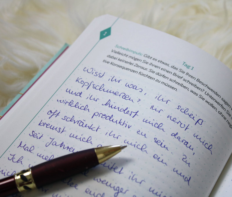 Ich schreibe mich gesund von Prof Dr med Silke Heimes-Kann mir das schreiben helfen