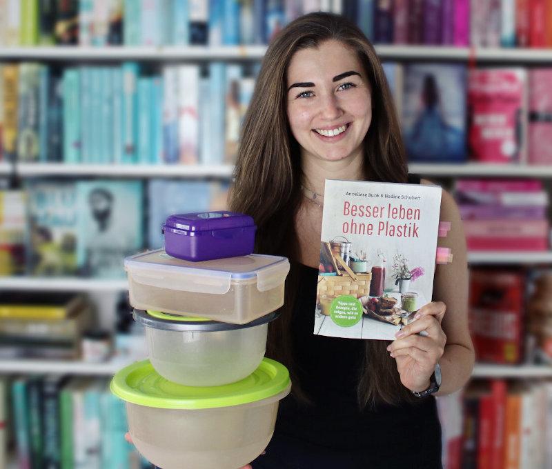 Besser leben ohne Plastik von Nadine Schubert und Anneliese Bunk-Nachhaltigkeit im Alltag-Plastik sparen