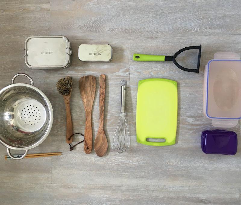 Plastik in der Küche-Plastik sparen-Nachhaltigkeit im Alltag