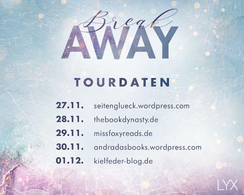 Blogtour Banner Breakaway von Anabelle Stehl