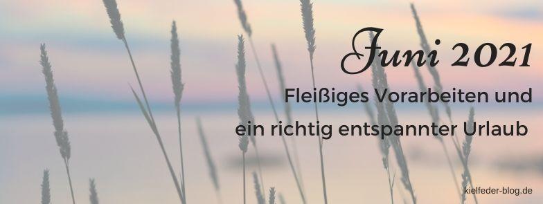 Monatsrückblick Juni 2021-Buchblog Kielfeder