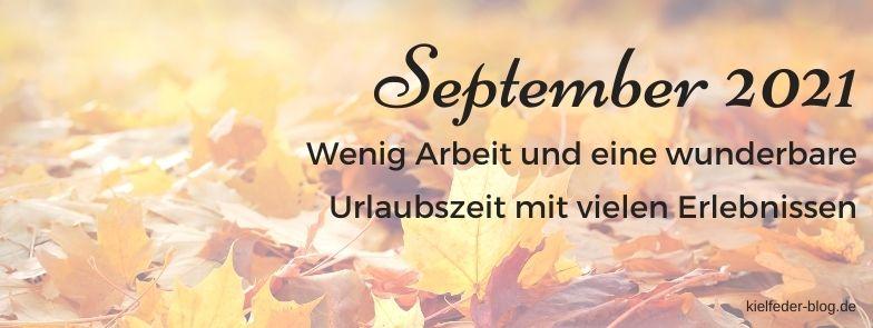 Monatsrückblick September 2021-Buchblog Kielfeder